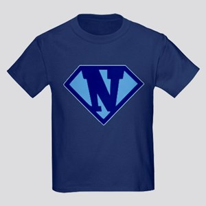 Super Hero Letter N T-Shirt